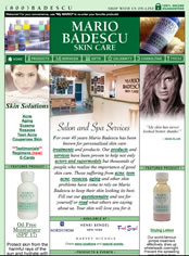 Mario Badescu website